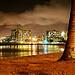 HDR Lights of Waikiki by JPhilipson
