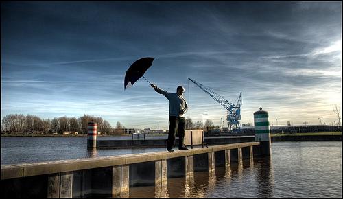 HDR Umbrella#5-1000 by Wesley Danes