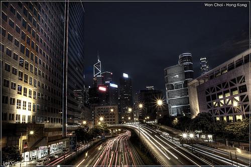 HDR Wan Chai - Hong Kong by lcaller
