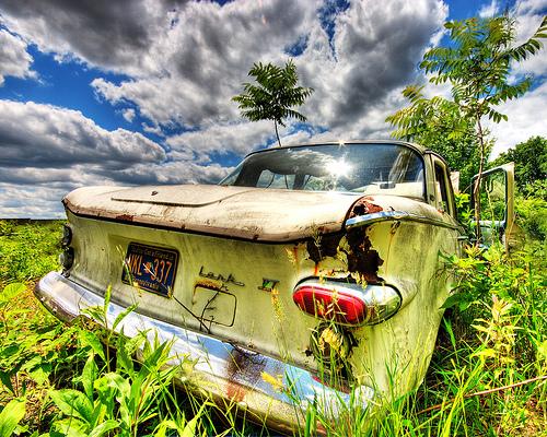 HDR Where'd I park my Lark? by dfworks
