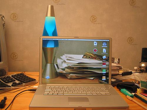 Transparan bilgisayar masaüstü fotoğrafları