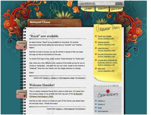 Notepad Chaos - screen shot