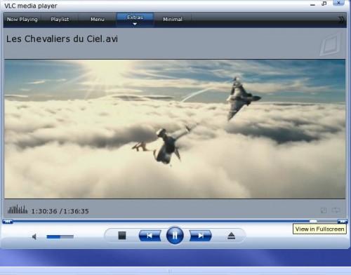 VLC kısayolları ve temaları
