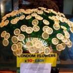 Prezervatif çiçekleri