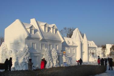Snow Ice Festival Harbin
