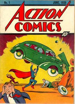 İlk Süpermen 317 bin dolara satıldı