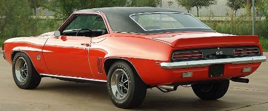 1969 Chevrolet Camaro RS/SS 396