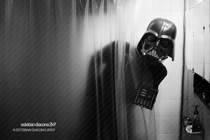Duş Darth Vader