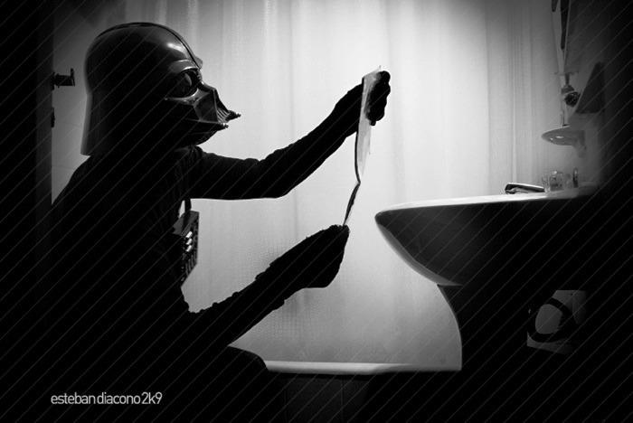Kuvvete ihtiyaç olduğunda Darth Vader
