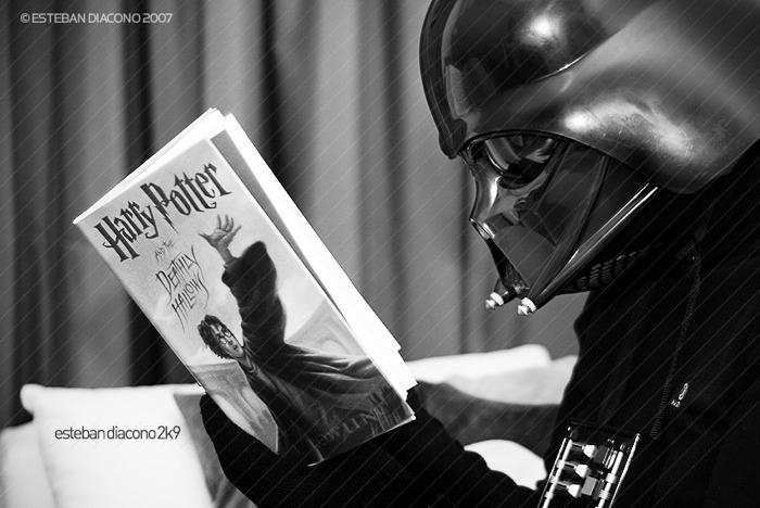 Kitap okumak Darth Vader