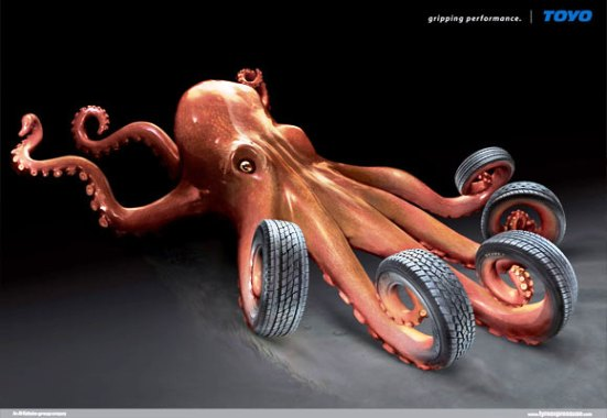 Toyo Octopus
