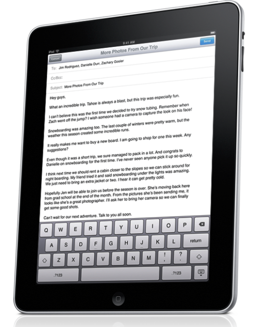 Apple iPad incelemesi