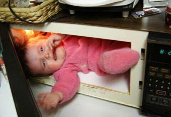 microwave baby