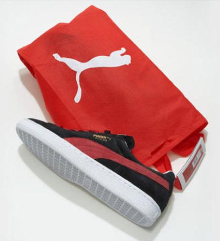 Puma yeni ayakkabı ambalajı