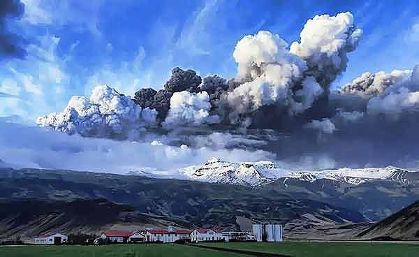 İzlanda, Eyjafjallajökull