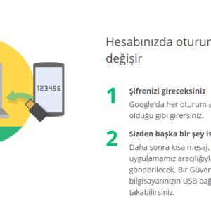 google-2-faktor-dogrulama