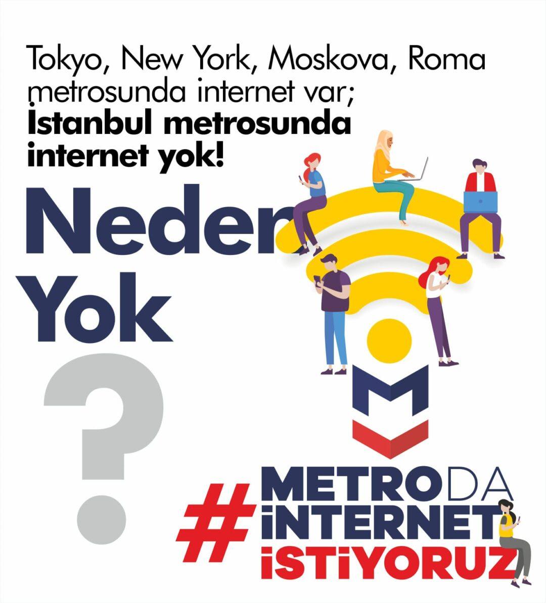 #Metrodaİnternetİstiyoruz
