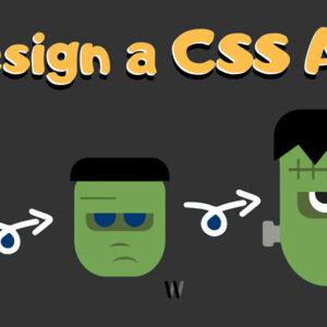 Bir CSS Sanat Eseri Tasarlayın - (Frankenstein)