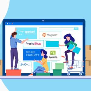 e-ticaret sitesi altyapı
