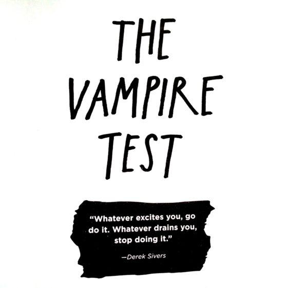 The Vampire Test