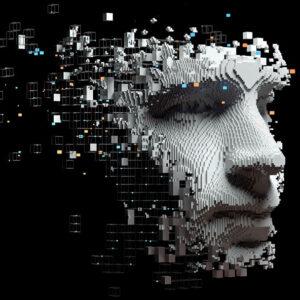 Yapay zeka - var olmayan bir insanın yüzü