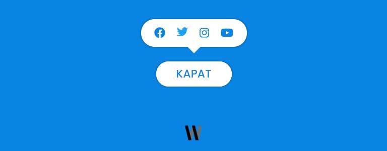 Animasyonlu paylaş butonu