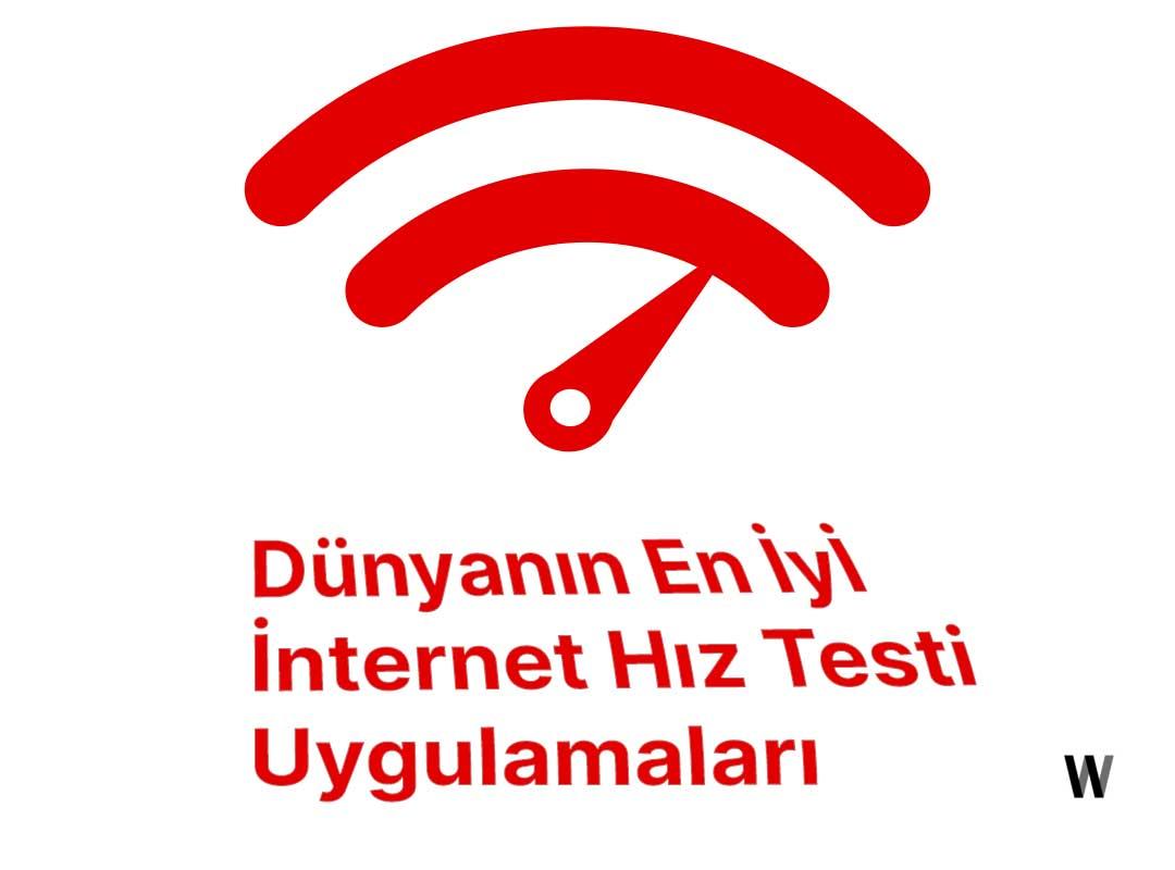 İnternet Hız Testi Uygulamaları/Siteleri