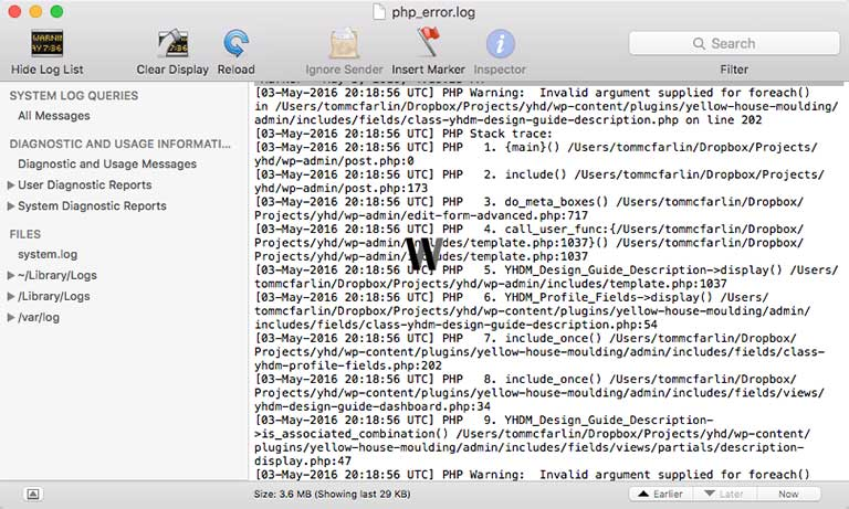 php_error_log