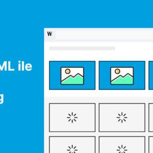 Saf HTML ile Lazy Loading