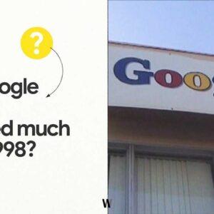 Google 1998 - 2021