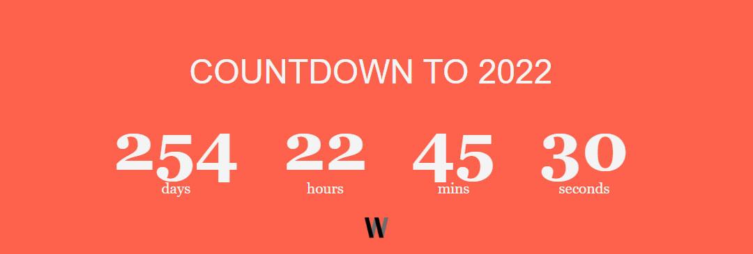 Countdown App - 2022