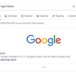 Google Logo Geçmişi