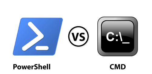 Windows PowerShell vs. CMD