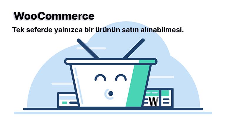 WooCommerce sepet ve satın alma sayfası için