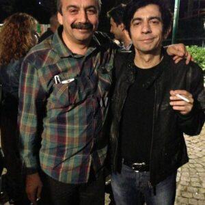 Okan Bayülgen ve Sırrı Süreyya Önder Gezi Parkı