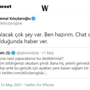 Jahrein - Kemal Kılıçdaroğlu / Twitter