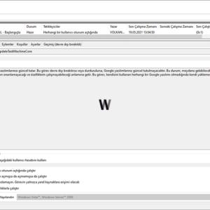 Windows PowerShell (PowerShell) - Görev Zamanlayıcı