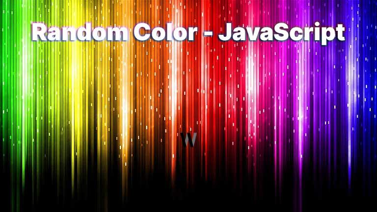 JavaScript - Random Colors