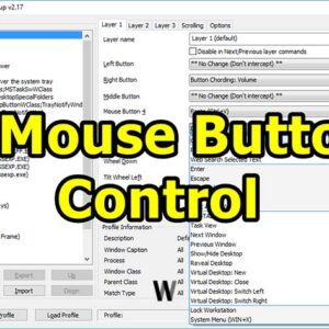 X-Button Mouse Control