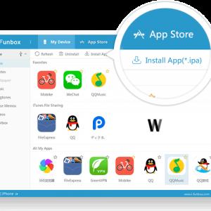 iFunbox, iPhone yedeklemek için iTunes alternatifi