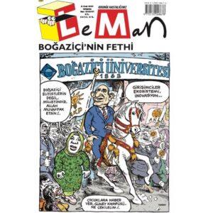 Leman Dergisi, Karikatür