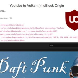 Overwrite CSS Filters in uBlock Origin