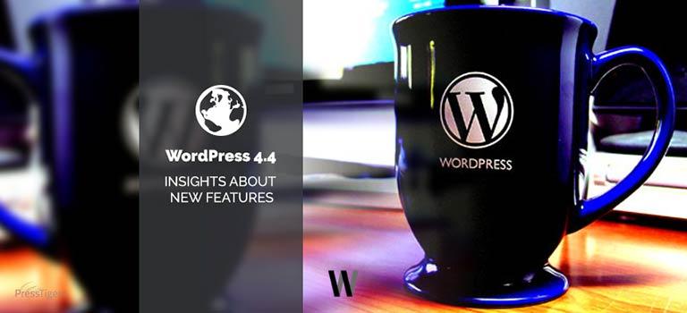 WordPress Version 4.4